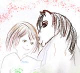 Pinni Malbuch für Pferdefreunde