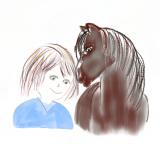 Pinni auf dem Ponyhof
